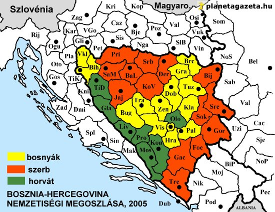bosznia hercegovina térkép Csendes métely Boszniában bosznia hercegovina térkép